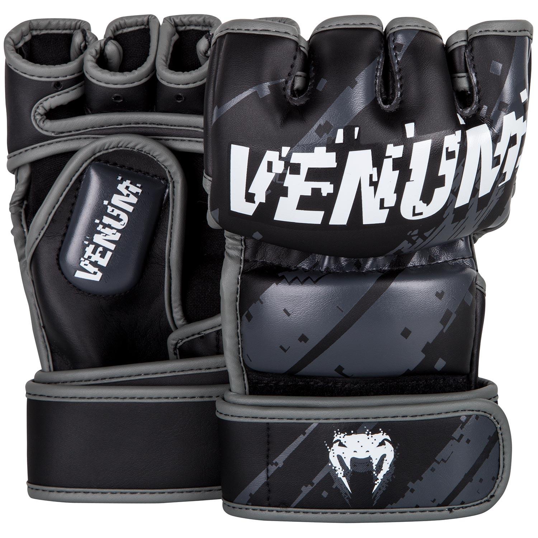 Перчатки ММА Venum Pixel - Black/Grey