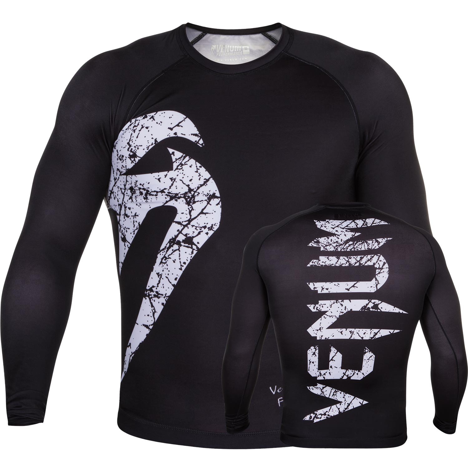 Рашгард Venum Original Giant Black/White L/S<br>Вес кг: 200.00000000;